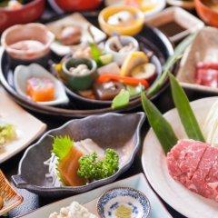 Отель Ryokan Fujimoto Минамиогуни питание