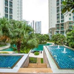 Отель Belle Grand Rama9 By Panu Таиланд, Бангкок - отзывы, цены и фото номеров - забронировать отель Belle Grand Rama9 By Panu онлайн бассейн