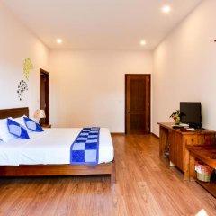 Отель Tra Que Riverside Homestay 2* Улучшенный номер с различными типами кроватей