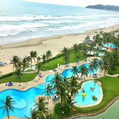 Отель Condominio Mayan Island Playa Diamante пляж фото 2