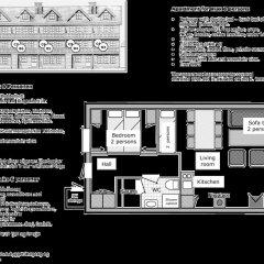 Апартаменты Nordseter Apartments Апартаменты с различными типами кроватей