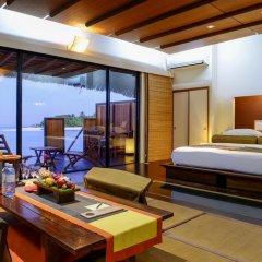 Отель Adaaran Prestige Vadoo 5* Вилла с различными типами кроватей фото 13