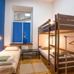 Хостел Берлога Кровать в общем номере с двухъярусной кроватью фото 6