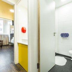 Отель Euro Hostel Glasgow Великобритания, Глазго - отзывы, цены и фото номеров - забронировать отель Euro Hostel Glasgow онлайн ванная фото 2