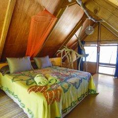 Отель Fafarua Ile Privée Private Island Французская Полинезия, Тикехау - отзывы, цены и фото номеров - забронировать отель Fafarua Ile Privée Private Island онлайн комната для гостей фото 4