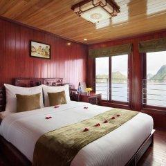Отель Halong Royal Palace Cruise 3* Стандартный номер с различными типами кроватей фото 4