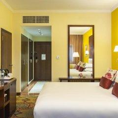 Coral Dubai Deira Hotel 4* Номер Делюкс с разными типами кроватей фото 4