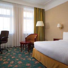 Гостиница Марриотт Москва Тверская 4* Номер Делюкс разные типы кроватей фото 9
