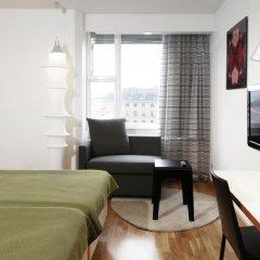 Отель Scandic Crown 4* Стандартный номер с различными типами кроватей фото 4