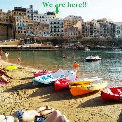 Отель Avalon Bellevue Homes Мальта, Мунксар - отзывы, цены и фото номеров - забронировать отель Avalon Bellevue Homes онлайн пляж фото 2