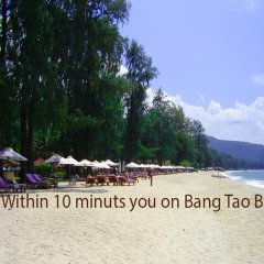 Отель Villa 140 пляж Банг-Тао приотельная территория