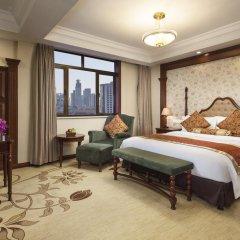 Jin Jiang Pacific Hotel Shanghai комната для гостей фото 9