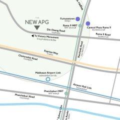 Апартаменты New Apg Apartments Бангкок городской автобус