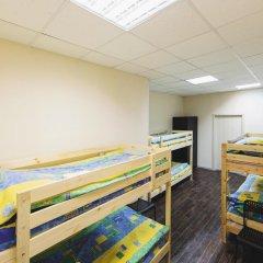 Мини-Отель Компас Кровать в общем номере с двухъярусной кроватью фото 12