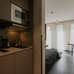 Апартаменты The Spot - Serviced Apartments Мюнхен в номере