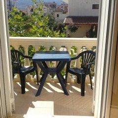 Отель Villa Marku Soanna Албания, Ксамил - отзывы, цены и фото номеров - забронировать отель Villa Marku Soanna онлайн балкон