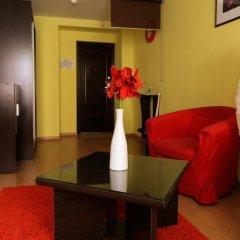 Гостиница Цветы Полулюкс разные типы кроватей фото 21