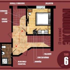 Гостиница Вилла Онейро 3* Номер с общей ванной комнатой с различными типами кроватей (общая ванная комната) фото 10