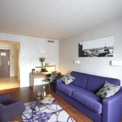 Отель Citadines Les Halles Paris Апартаменты с различными типами кроватей