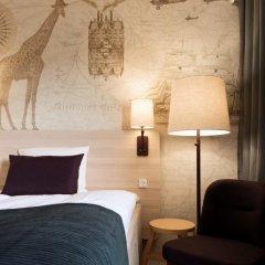 Отель Scandic Aalborg Øst 3* Стандартный номер разные типы кроватей фото 2