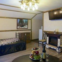 Гостиница Теремок Заволжский Апартаменты разные типы кроватей фото 37