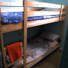 Хостел Маня Кровать в общем номере с двухъярусной кроватью фото 23