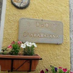 Отель B&B L'Arabatana Кастельмеццано с домашними животными