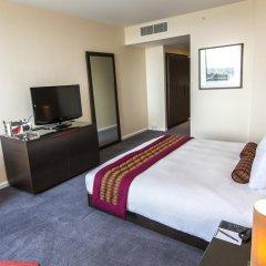 Отель Hilton London Canary Wharf 4* Представительский номер с различными типами кроватей фото 2