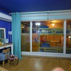 Отель Han River Guesthouse 2* Семейная студия с двуспальной кроватью фото 35