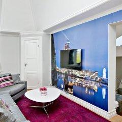 Отель Avenue A1 Улучшенные апартаменты с различными типами кроватей фото 15