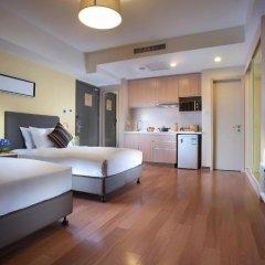 Отель Citadines Xingqing Palace Xi'an 4* Улучшенные апартаменты с различными типами кроватей фото 10