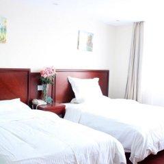 GreenTree Inn JiangXi JiuJiang Railway Station Business Hotel 3* Стандартный номер с 2 отдельными кроватями