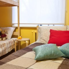 Хостел Квартира 55 Кровать в общем номере с двухъярусной кроватью фото 11