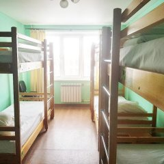 Хостел SunShine Кровать в мужском общем номере с двухъярусной кроватью фото 15