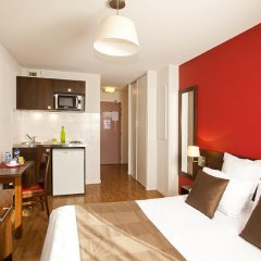 Отель Séjours et Affaires Paris Malakoff 2* Студия с различными типами кроватей фото 8