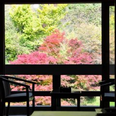 Отель Tarutama Onsen Yamaguchi Ryokan Минамиогуни балкон