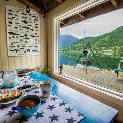 Отель Nesset Fjordcamping в номере
