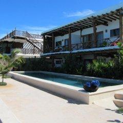 Отель Las Nubes de Holbox бассейн фото 2