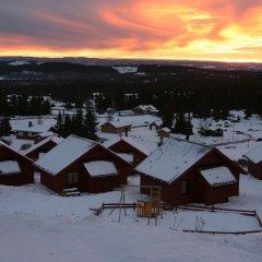 Отель Lillehammer Fjellstue питание
