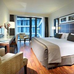 Отель Eurostars Berlin 5* Стандартный номер с двуспальной кроватью фото 8