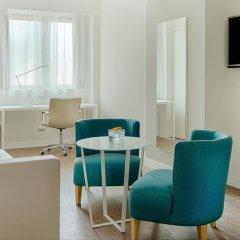 Отель NH Torino Centro 4* Стандартный номер с различными типами кроватей фото 5