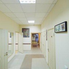 Мини-Отель Компас Кровать в общем номере с двухъярусной кроватью фото 31