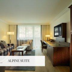 Отель Mont Cervin Palace 5* Люкс с различными типами кроватей фото 4