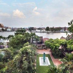 Отель Chakrabongse Villas Бангкок приотельная территория