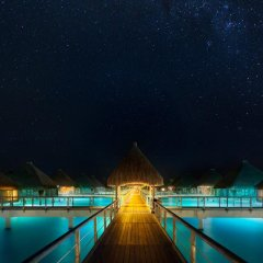 Отель The St Regis Bora Bora Resort бассейн фото 6
