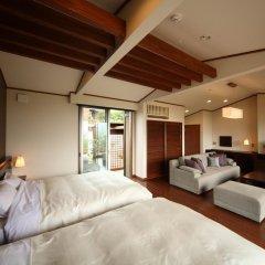 Отель Asagirinomieru Yado Yufuin Hanayoshi 4* Стандартный номер фото 2