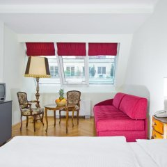 Hotel Royal 4* Стандартный номер с разными типами кроватей фото 8