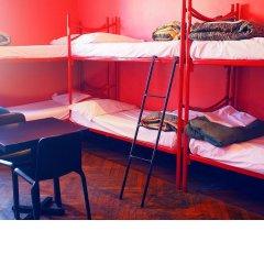 M&J Place Hostel Rome Кровать в общем номере с двухъярусной кроватью фото 4