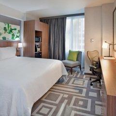 Отель Hilton Garden Inn New York/Central Park South-Midtown West 3* Стандартный номер с двуспальной кроватью фото 2