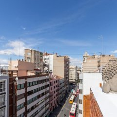 Отель Apartamento Travel Habitat Atico Centro Валенсия балкон